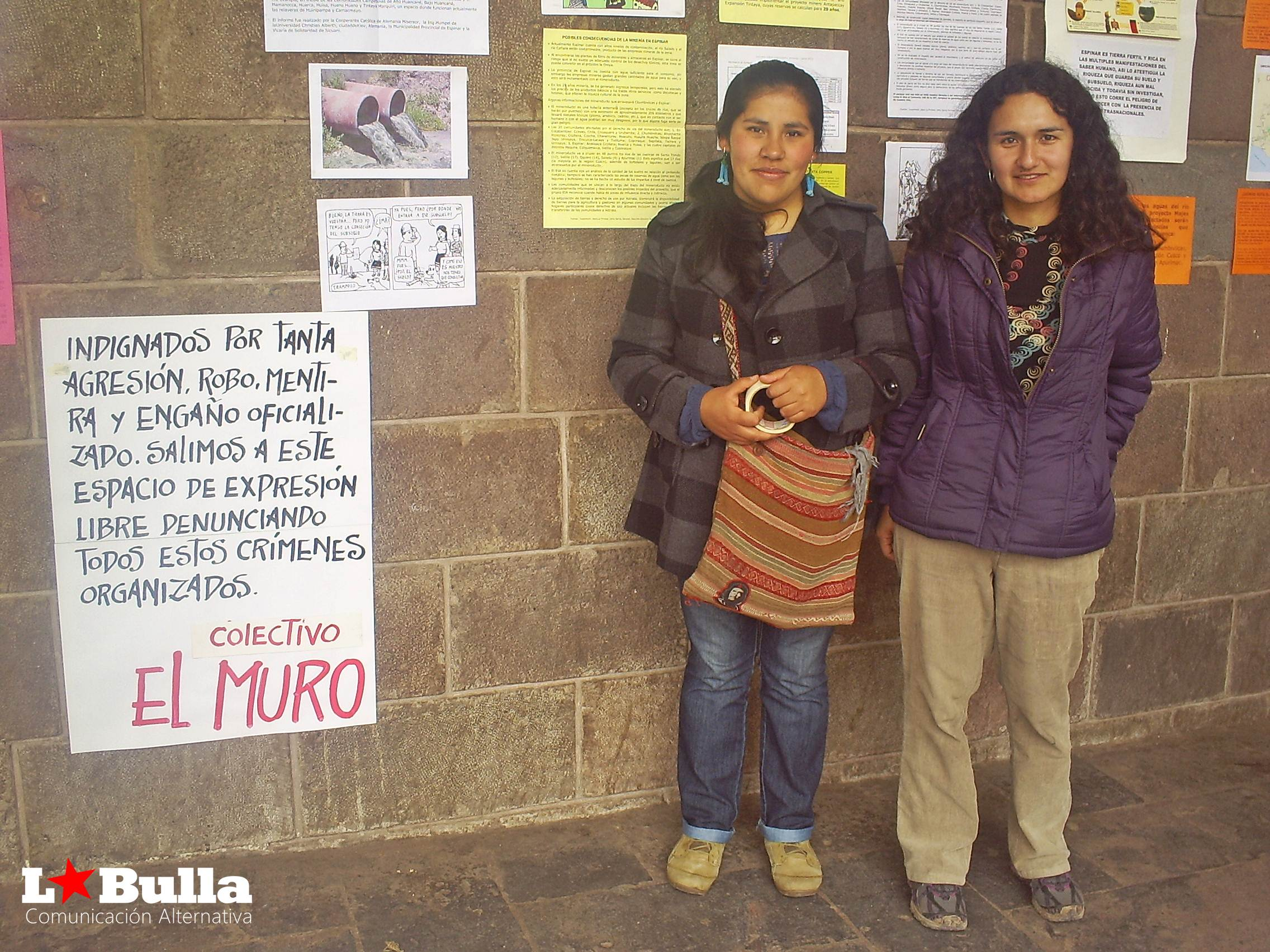 Colectivo el Muro, foto Romina Garcia Hermelo