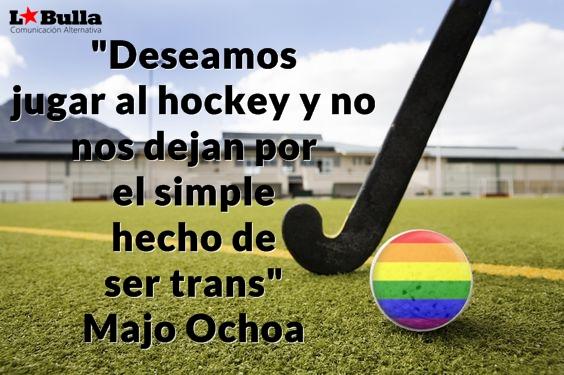 Majo Ochoa, Discriminada por la Federación de Hockey San Luis