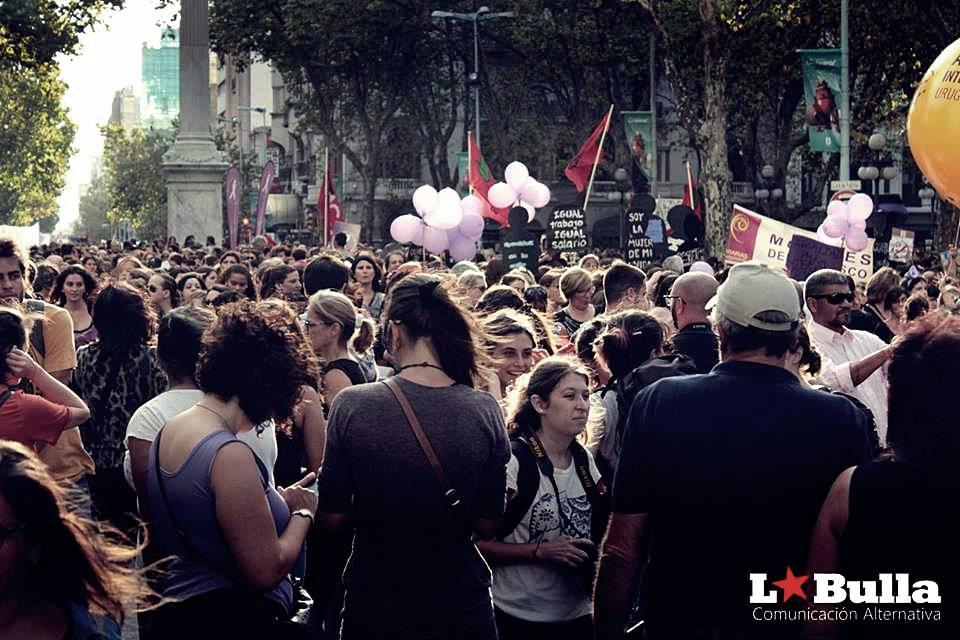 Furiosas y Vivas contra el Patriarcado #8MUruguay
