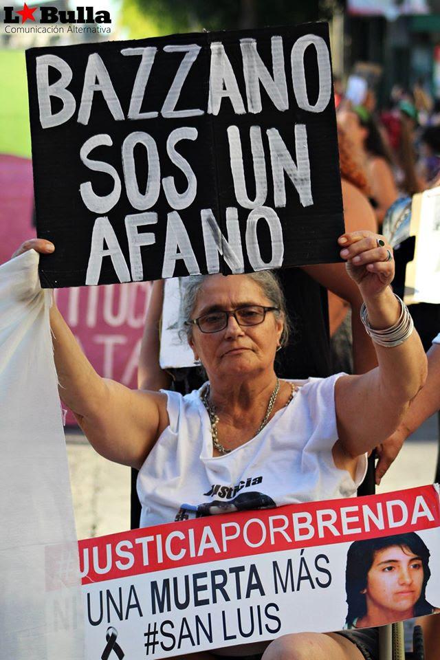 Justicia por brenda arias, san luis argentina