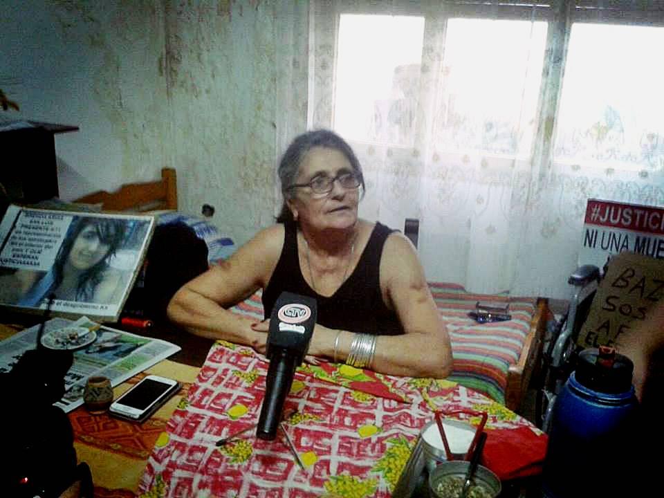 Negrita Garayalde femicidio Brensda Arias San Luis Argentina