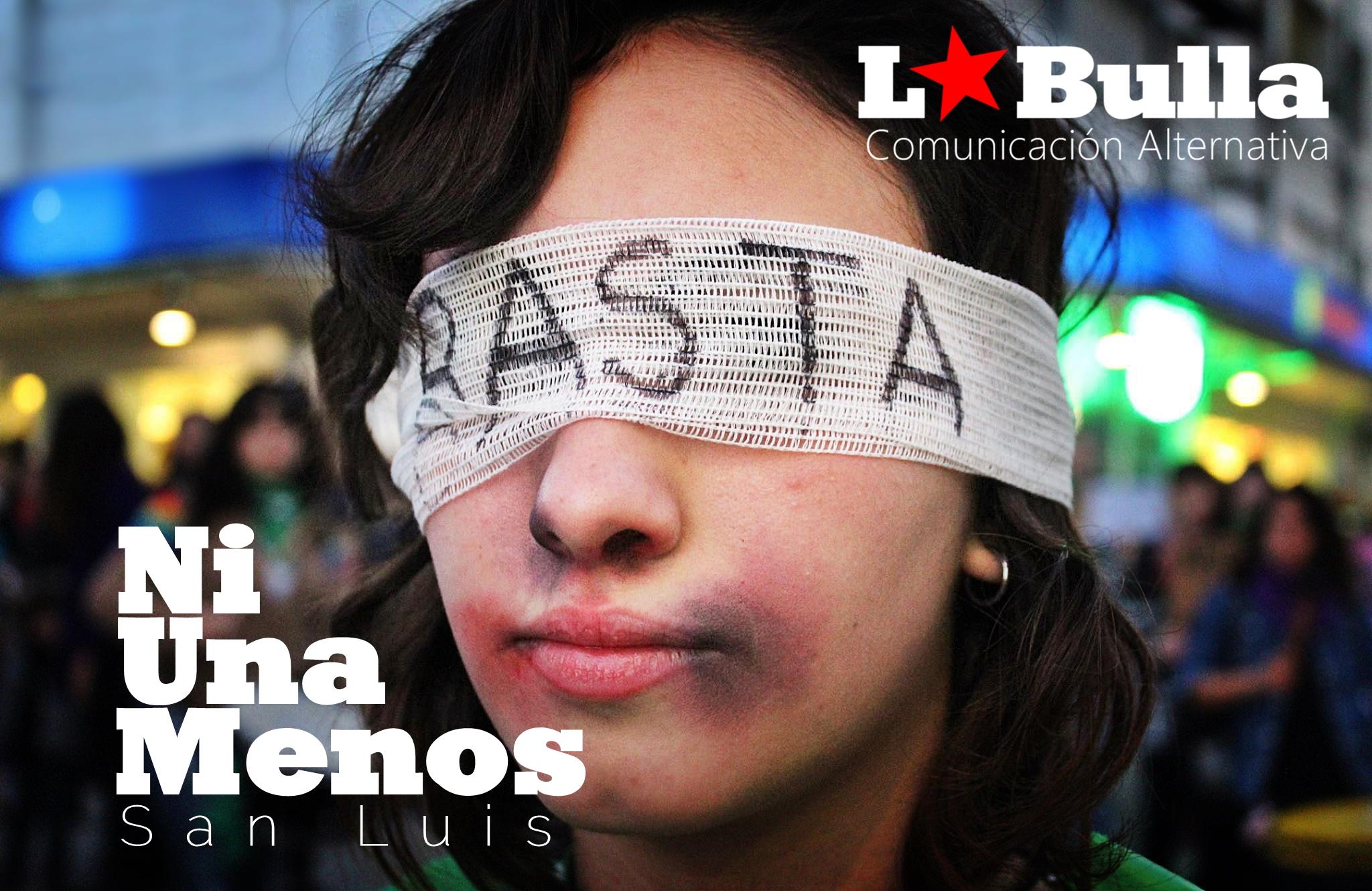 #3J Marcha #NiUnaMenos San Luis