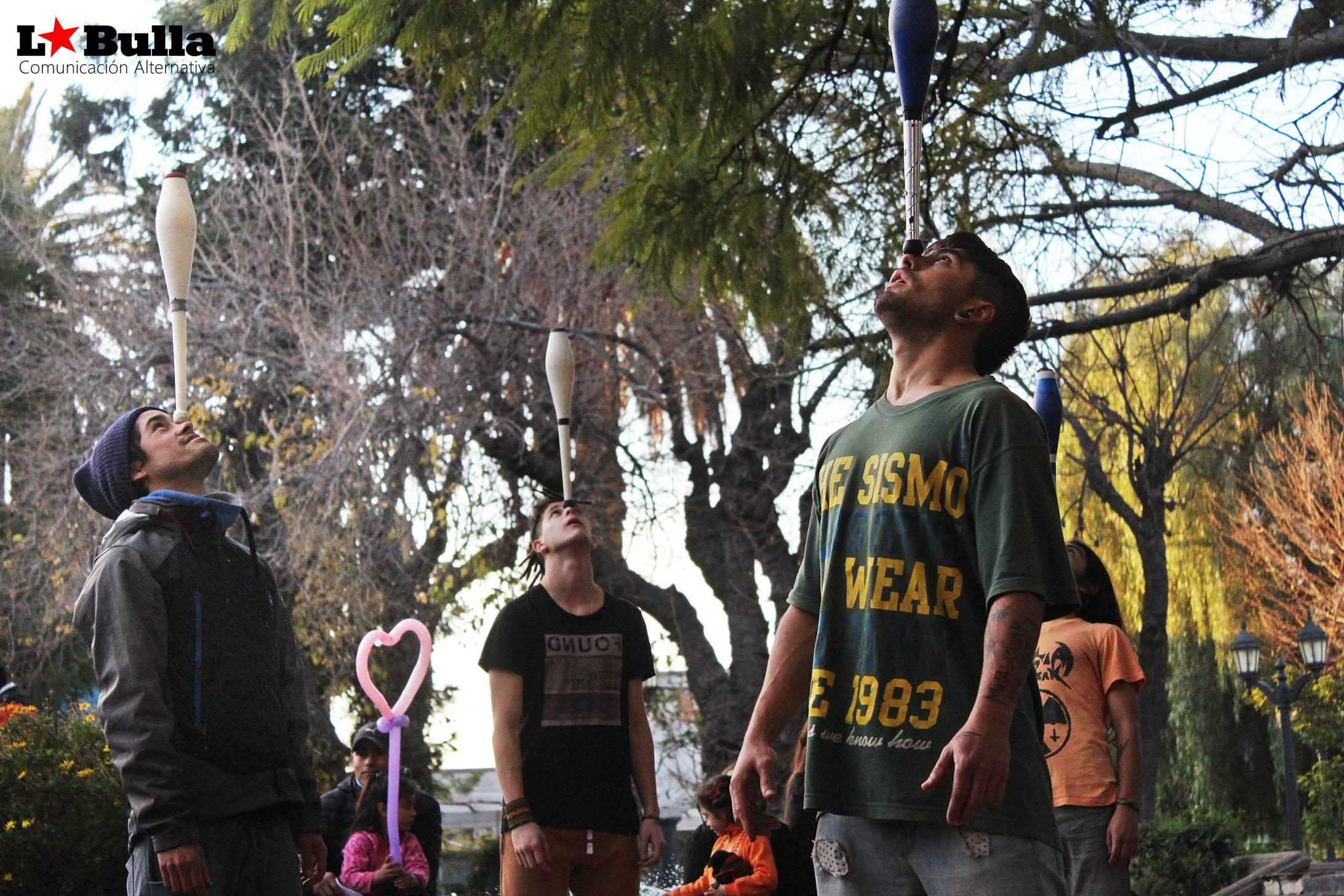 Día de lxs malabaristas San Luis Argentina