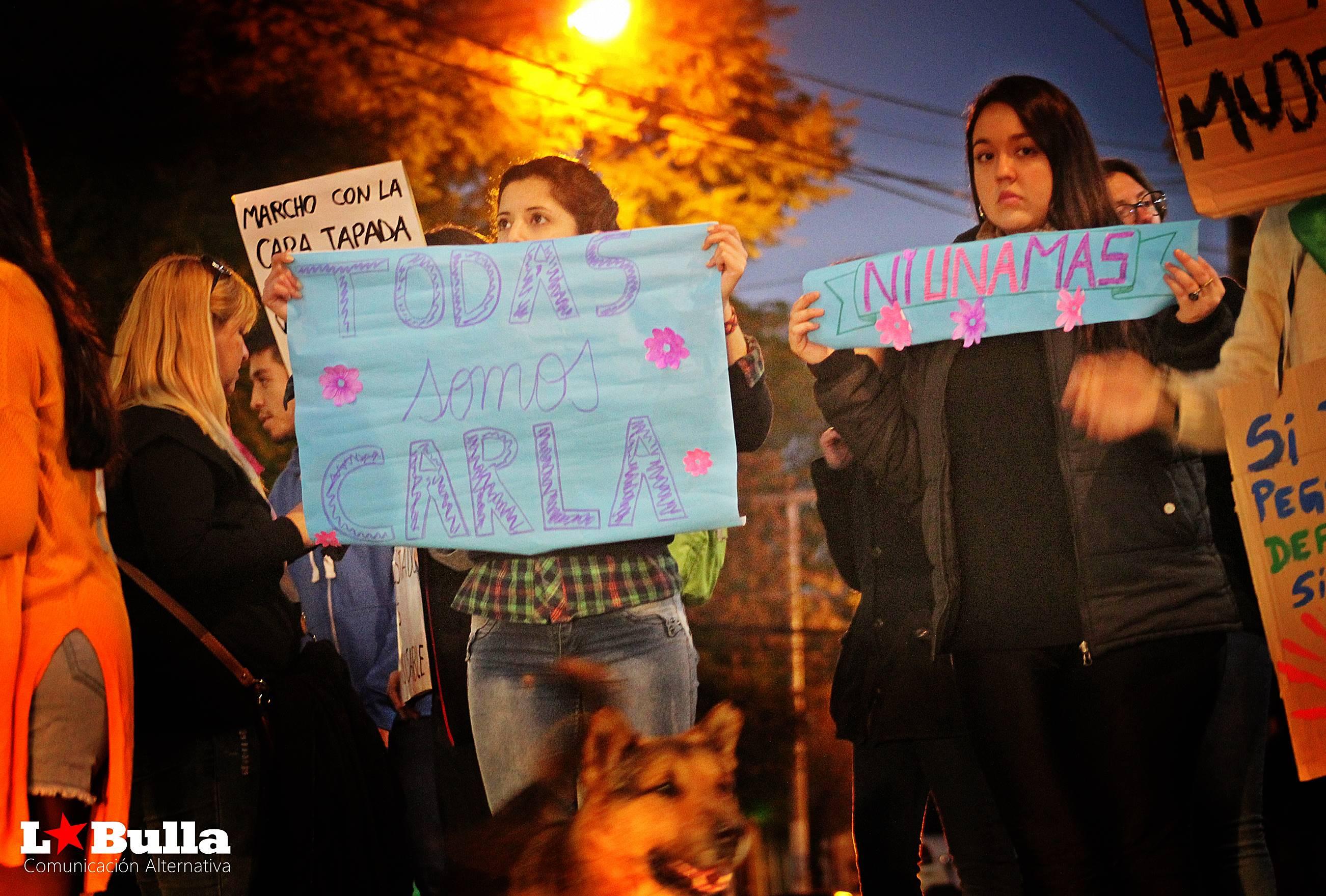 Todxs somos Carla Marcha en San Luis Argentina Femicidios