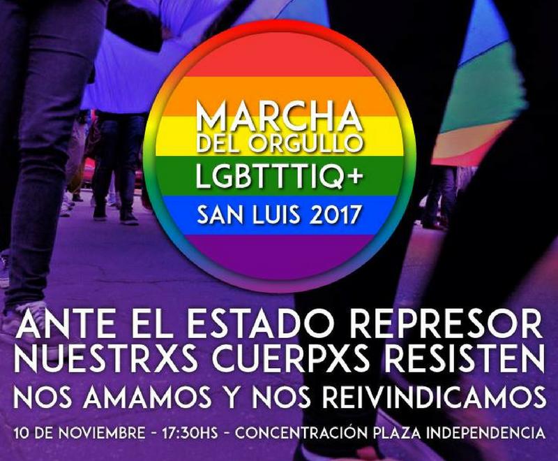 Comunicado de prensa Marcha del Orgullo LGBTTTIQ+ San Luis 2017