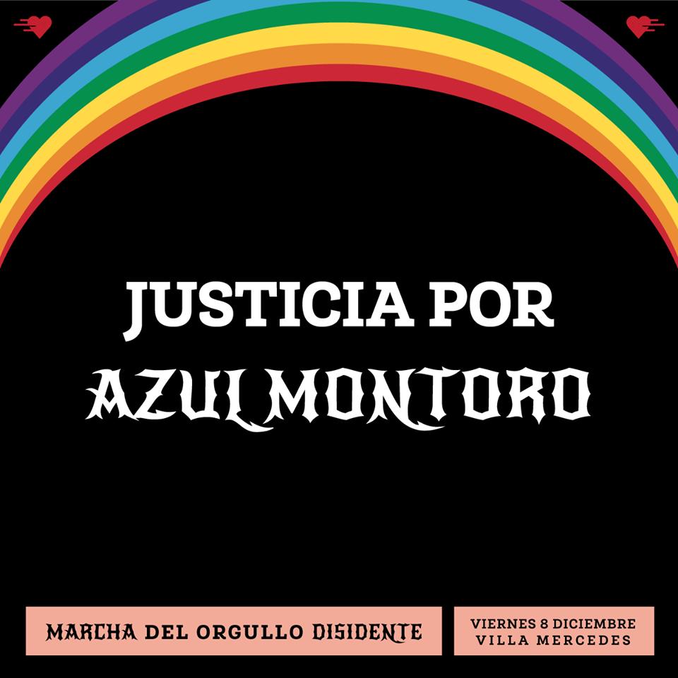¡JUSTICIA POR AZUL MONTORO!