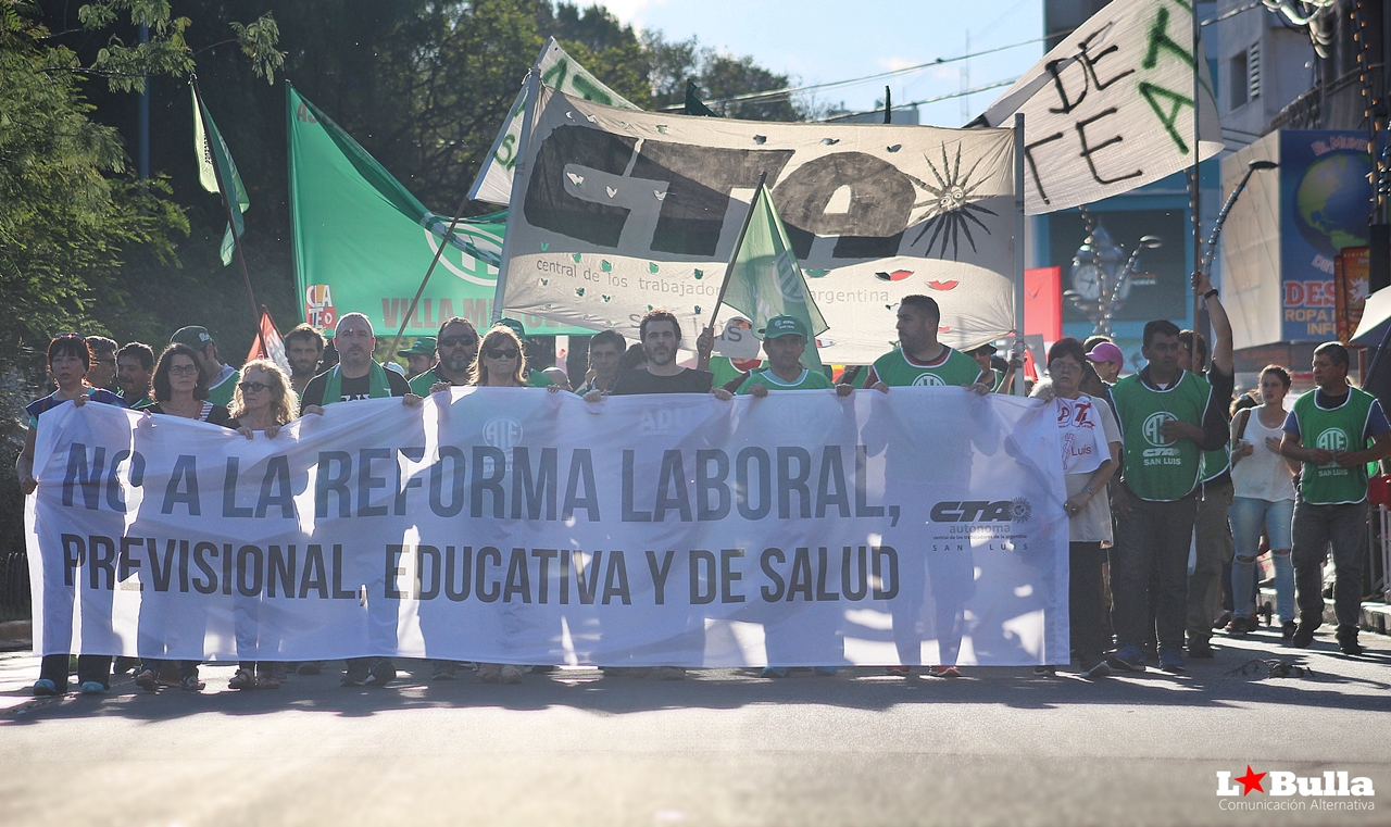 No a la Reforma Laboral, Previsional, Educativa y de Salud