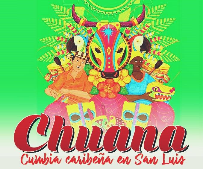 CHUANA cumbia del Caribe en San Luis 1