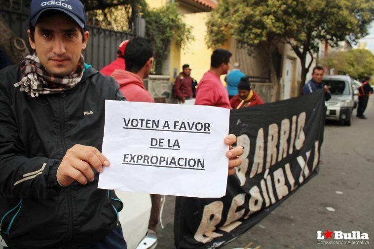 Reclamo en San Luis Argentina La Bulla
