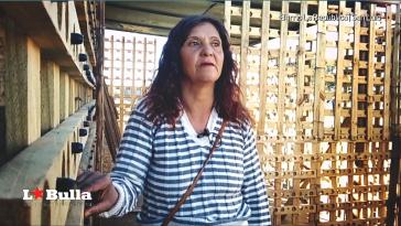 Sandra en el Barrio República