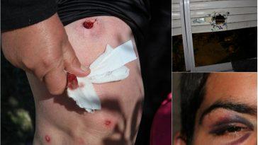 Violencia policial en el Barrio Mujica