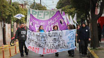Marcha Federal La Bulla
