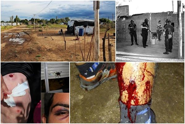 AQSNV 15: Represión policial, el Estado es responsable