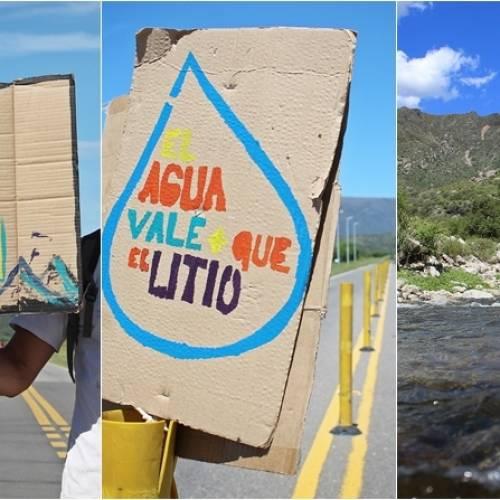 San Luis: Corte Informativo de ruta contra la megaminería